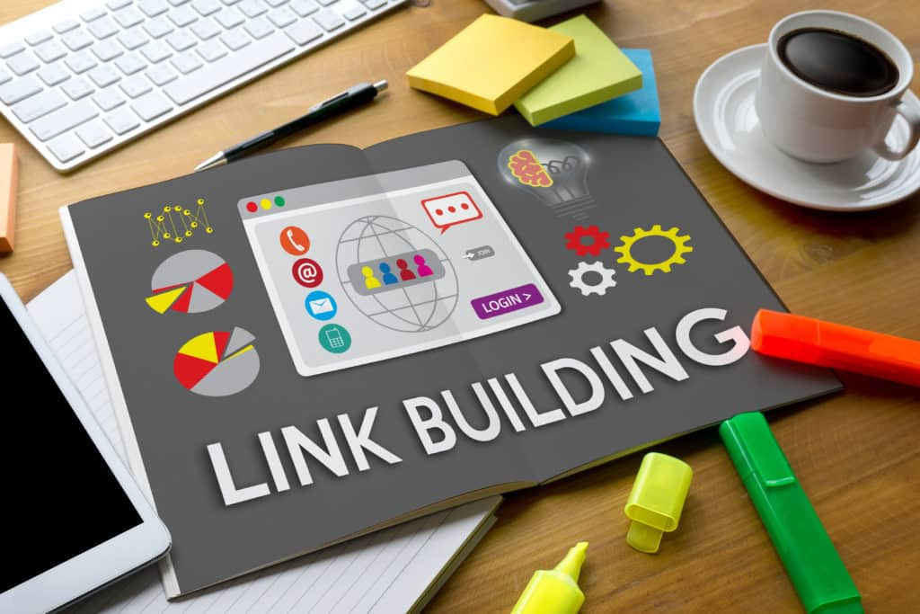LINK BUILDING Connect Link Communication Contact Network